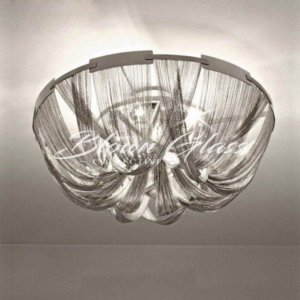 Bathroom Chandelier - Metallic Mischief - Blown Glass Collective