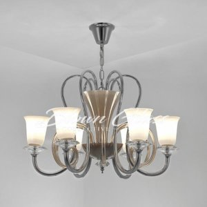 Dining Room Chandelier - Tradition Reinvented - Blown Glass Collective