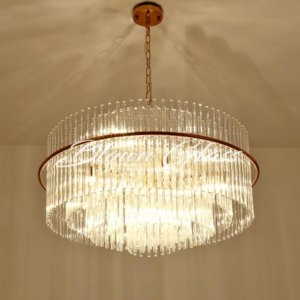 Contemporary Chandeliers - Pillars On Parade - Blown Glass Collective