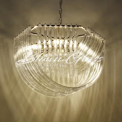 Contemporary Chandeliers - Glass Rapids - Blown Glass Collective