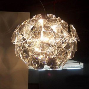 Pendant Light Chandeliers - Glass Reflected - Blown Glass Collective